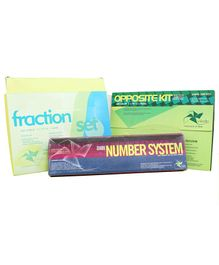 Vikalp Fraction Pack of 3 - Green