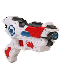 Simba Space Shooter Laser Gun - Red & White
