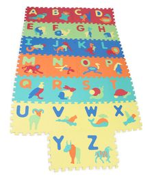 Sunta Alphabet And Animal Playmat Multicolour - 26 Pieces