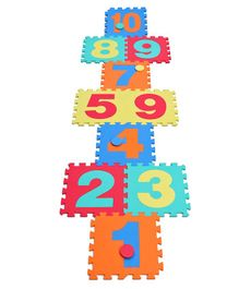 Sunta Number Playmat Multicolour - 10 Pieces