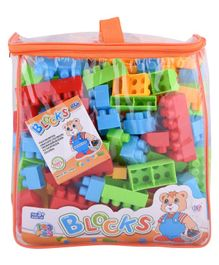 Curtis Toys Blocks set With Bag Multicolour - 140 pieces