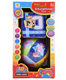 Curtis Toys Educational Toy Pack of 2  - Multicolour