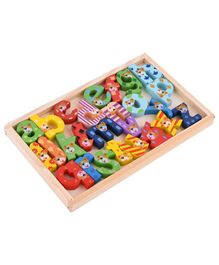 Curtis Toys Alphabets In Wooden Box