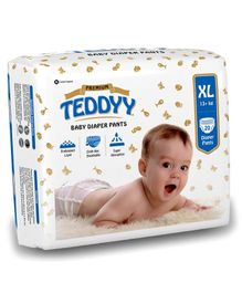 Teddyy Baby Premium Pant Style Diapers Extra Large - 20 Pieces