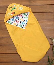 Cucumber Hooded Wrapper Vehicle Print - Yellow