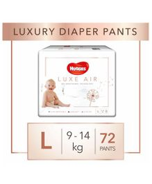Huggies Luxe Air Large Size Pant Style Diapers -72 Pieces