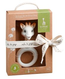 Sophie la Girafe So Pure Ring Teether - White
