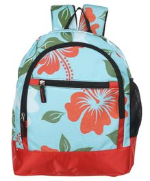 Bohomia Jungle Kids Backpack Blue - Height 13 inches