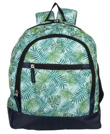 Bohomia Jungle Kids Backpack Green - Height 13 inches