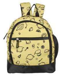 Bohomia Jungle Kids Backpack Yellow - Height 13 inches