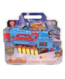 Chhota Bheem Super Striker Dart Gun - Blue & Red