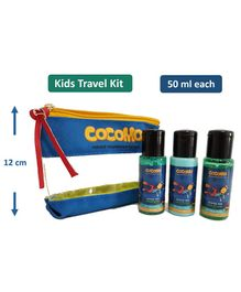Cocomo Natural Minty Sea Travel Gift Set Pack of 3 - 50 ml Each
