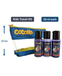Cocomo Natural Moon Sparkle Gift Set With Travel Pouch Pack of 3 - 50 ml Each