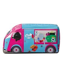 TINC On Tour Bus Pencil Case - Multi Colour