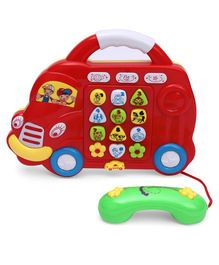 Musical Car Shaped Phone - Red