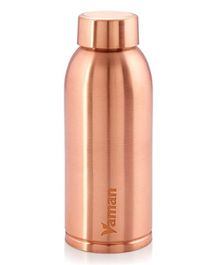 Hazel Vaman Copper Water Bottle - 600 ml Each