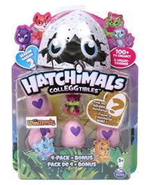 Hatchimals Collectables Pack of 4 - Pink