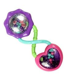 Bright Stars Rattle & Shake Barbell - Multicolour