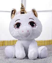 Starwalk Unicorn Soft Toy White - Height 24 cm