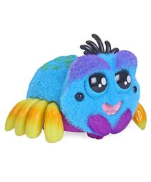 Yellies Webington Spider Shaped Battery Operated Toy - Blue