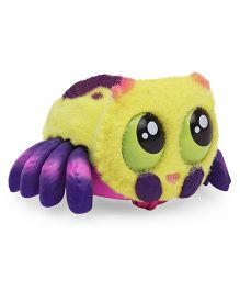 Yellies Lil Blinks Spider Shaped Battery Operated Toy - Yellow