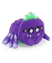 Yellies Wriggly Wriggles Spider Shaped Battery Operated Toy - Purple