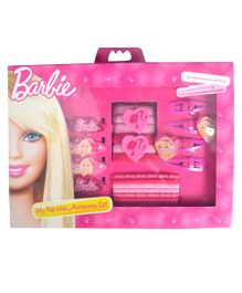 Barbie My Fab Hair Accessories Set Pink - 20 Pieces