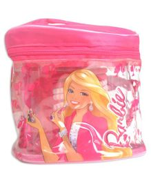 Barbie My Fab Beauty Set On The Go Pouch Pink - 8 Pieces