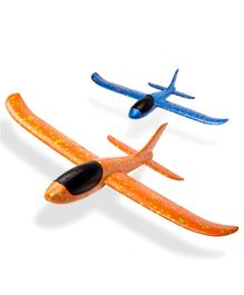 Webby Manual Throwing Airplane Outdoor Toy 1 Piece (Color May Vary)