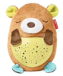 Skiphop Hug Me Projector With Music Bear Shape - Brown