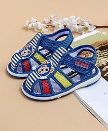 Cute Walk by Babyhug Sandal Monkey Patch - Blue