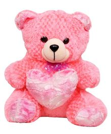 Harry & Honey Teddy Bear Pink - 27 cm