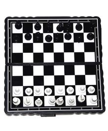 VibgyorVibes Magnetic Chess Board Game - Black White