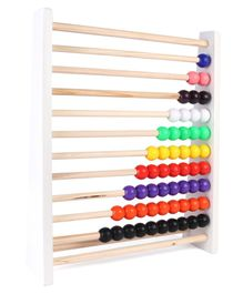Kinder Creative Wooden Counting Abacus 1 to 10 Numbers - Muklticolor