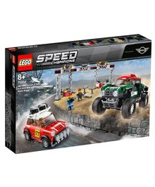 Lego 1967 Mini Cooper S Rally And 2018 MINI J - 481 Pieces