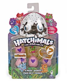 Hatchimals Collectibles Pack of 4 - Green Pink