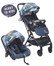 R for Rabbit Pocket Lite Travel System The Portable Travel System - Grey