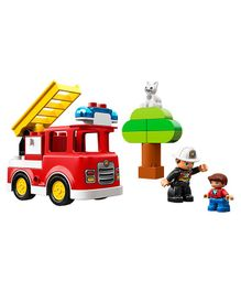 Lego Duplo Fire Truck Red - 21 Pieces