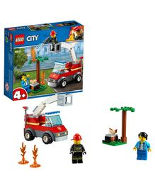 Lego City Barbecue Burn Out Building Set - 64 Pieces