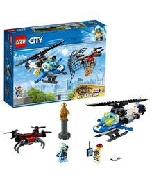 Lego City Sky Police Drone Chase Blue - 192 pieces