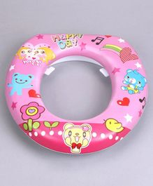 Babyhug Soft Cushioned Potty Seat Cartoon Print – Pink
