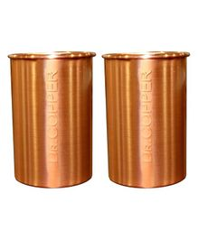 Dr. Copper Copper Glasses Set of 2 - 500 ml each