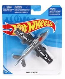 Hot Wheels Planes Fang Fighter - Grey