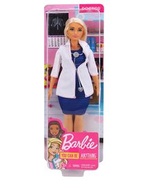 Barbie Doctor Doll Blue White - Height 27 cm