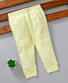 Fox Baby Full Length Lounge Pant - Light Yellow