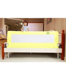 Kiddale Bedrail Foldable Baby Bedside Protector - Yellow White