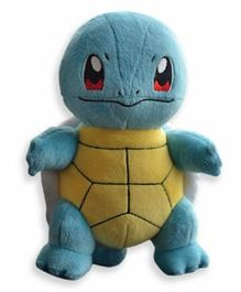 Pokemon Squirtle Plush Toy Blue Yellow - 23 cm