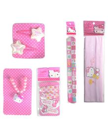 Hello Kitty Hair Accessories Pack of 5 - Pink