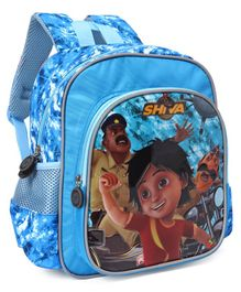 Shiva School Bag Blue - Height 11.8 inches