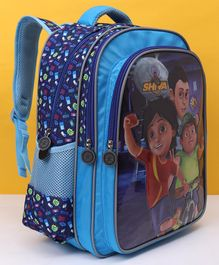 Shiva With Friends School Bag Navy - Height 16 Inches